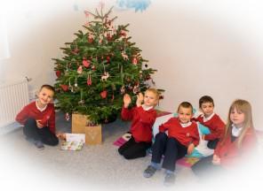 Vzpomínky na Vánoce vZŠ EDIN