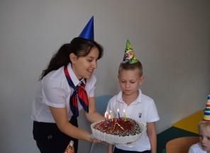 Lukáškova narozeninová oslava
