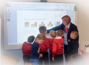 Ukázková hodina pro předškoláky na ZŠ EDIN