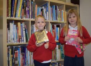 Prvňáčci ZŠ EDIN poprvé v knihovně