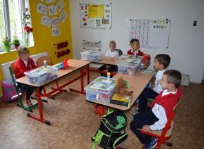 První školní den vEDINu