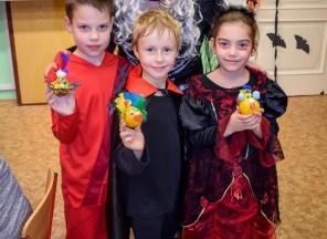 Halloweenská párty v ZŠ EDIN